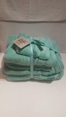 Handdoeken-set  Aqua groen