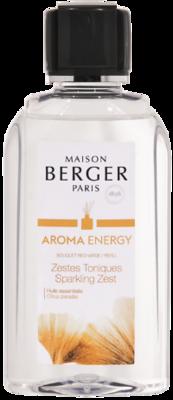 Aroma Energy Sparkling Zest Sprankelende Citrus schil Navulling 200 ml