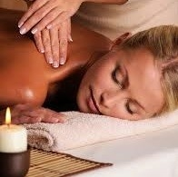 Massage & Scrub rug en achterkant benen