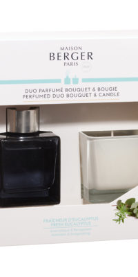 Perfumed Duo Bouquet & Candle
