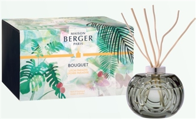 Bouquet Immersion Grey Gift Set with Lychee Paradise